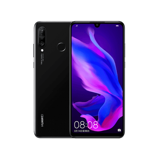 Huawei Nova 4e Cracked Camera Glass Replacement