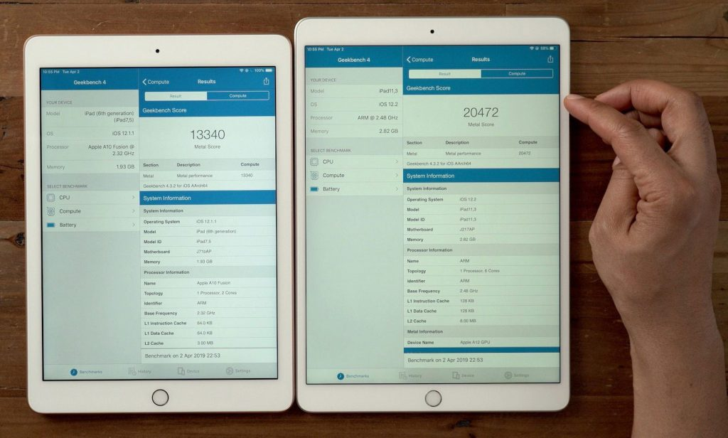 iPad Air 3 vs iPad Pro 10.5