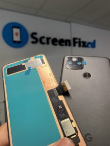 Google Pixel 5 Repairs with Screen Fixed