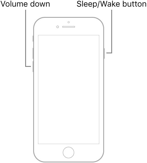 Restart A Frozen iPhone 6